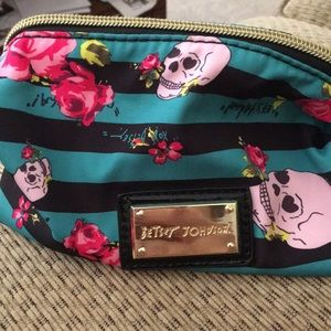 Betsey Johnson makeup case